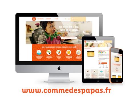 Le nouveau site e-commerce