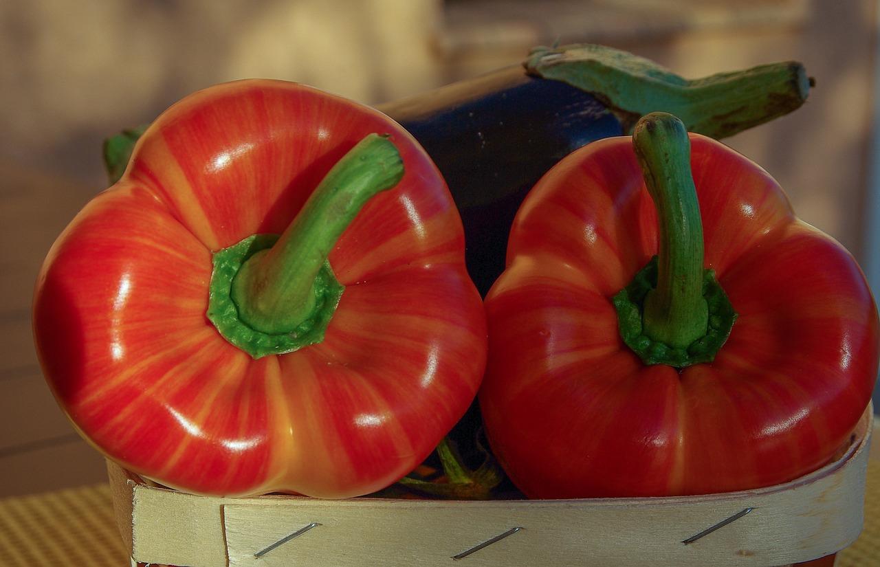 Recette bébé dès 8 mois : Purée maison de poivron, aubergine & tomate