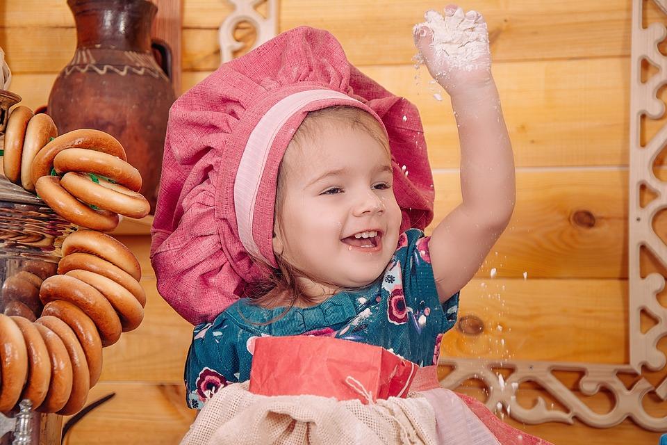 Cuisiner avec bébé