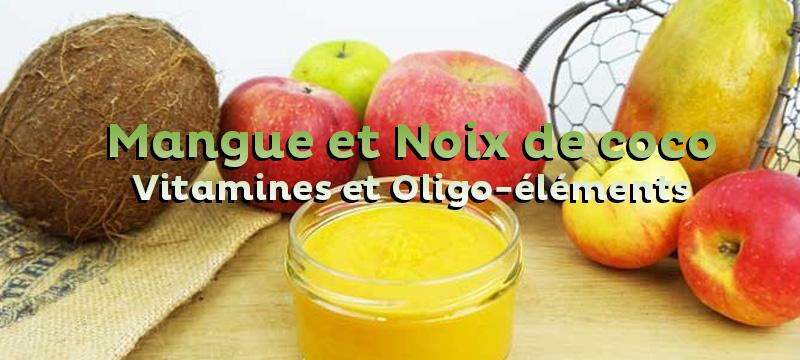 Améliorer les défenses immunitaires de bébé grâce aux fruits et légumes. Focus sur la Mangue et la Noix de Coco