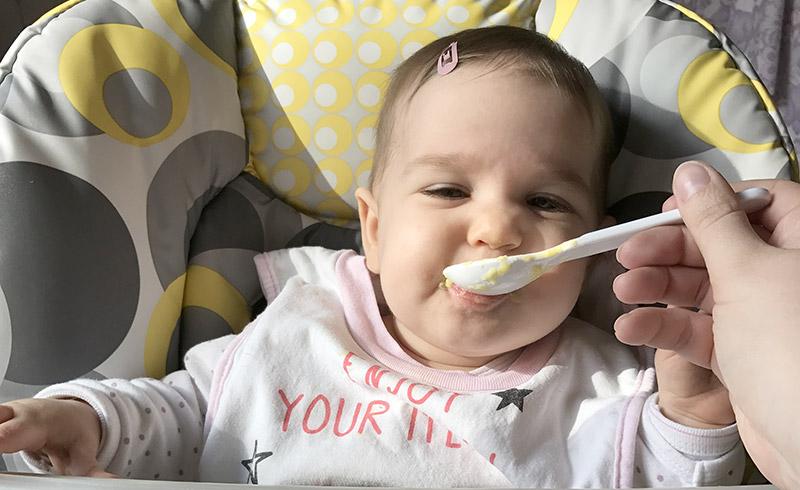 Le développement du goût chez les bébés