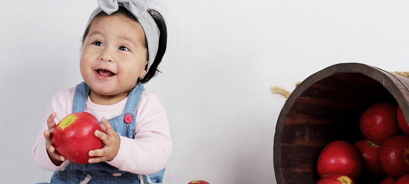 L'introduction des morceaux dans l'alimentation du bébé